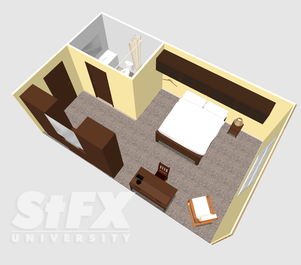 O'Regan single room at StFX