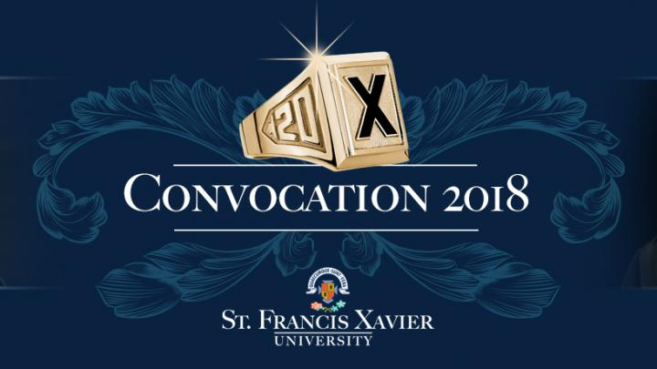 StFX Spring Convocation 2018